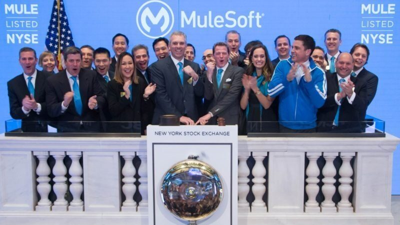 Mulesoft; from first check to IPO